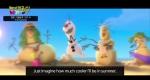 '겨울왕국' 눈사람 올라프가 꿈꾸는 여름