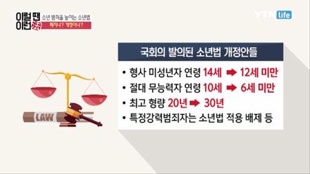 이럴 땐 이런 법 [46회] 소년법